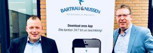 Melvin Bartraij en Harrie Nijssen van BNAA uit Best